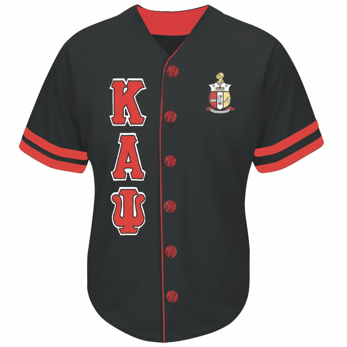 Image of Baseball Jersey (Black)