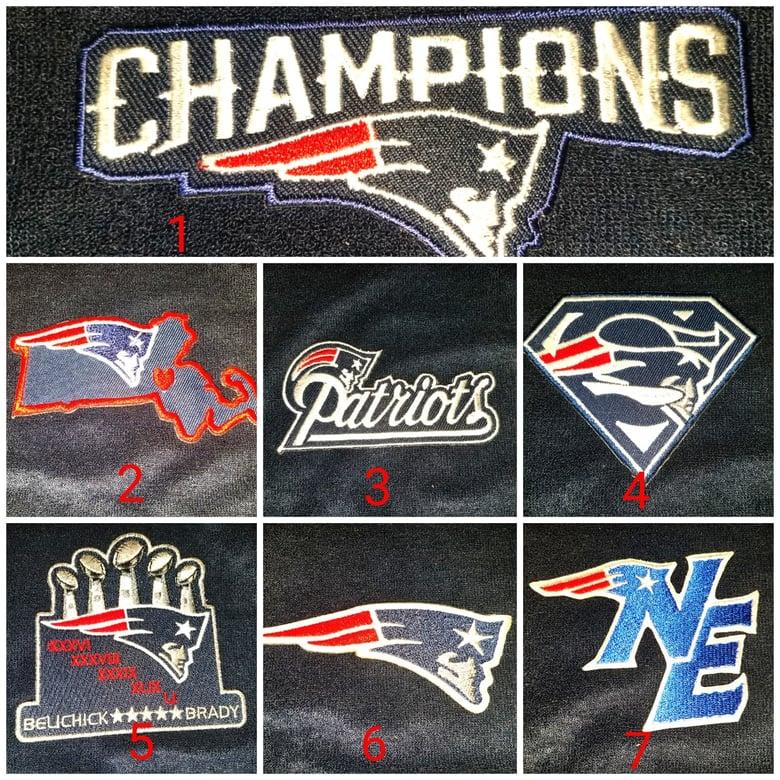 Image of Patriots-themed Towel Shorts