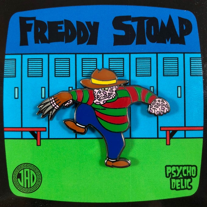 Image of Freddy Stomp Enamel Pin