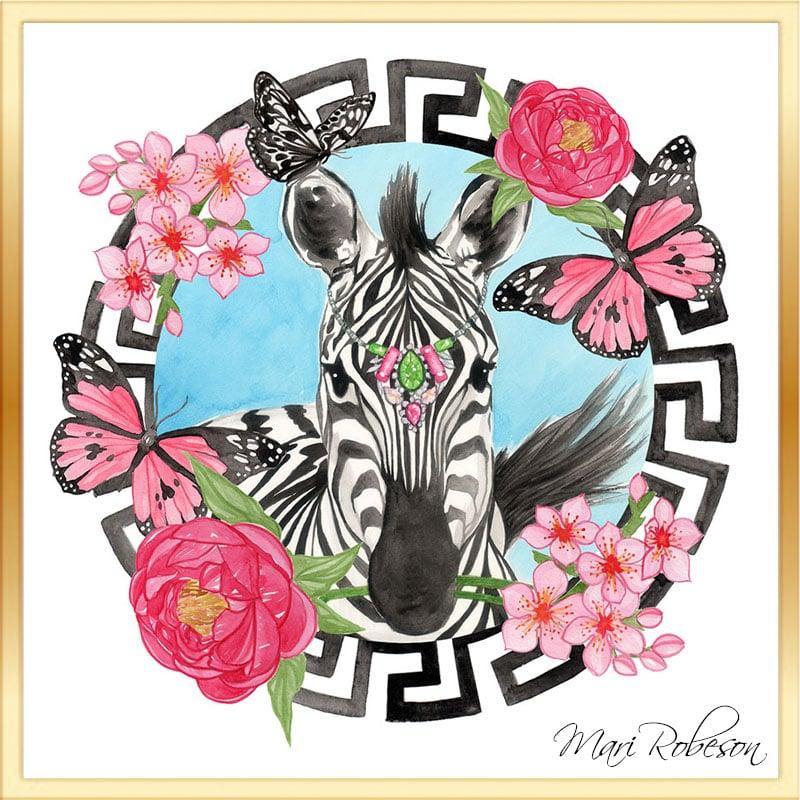 Image of Pretty Zebra