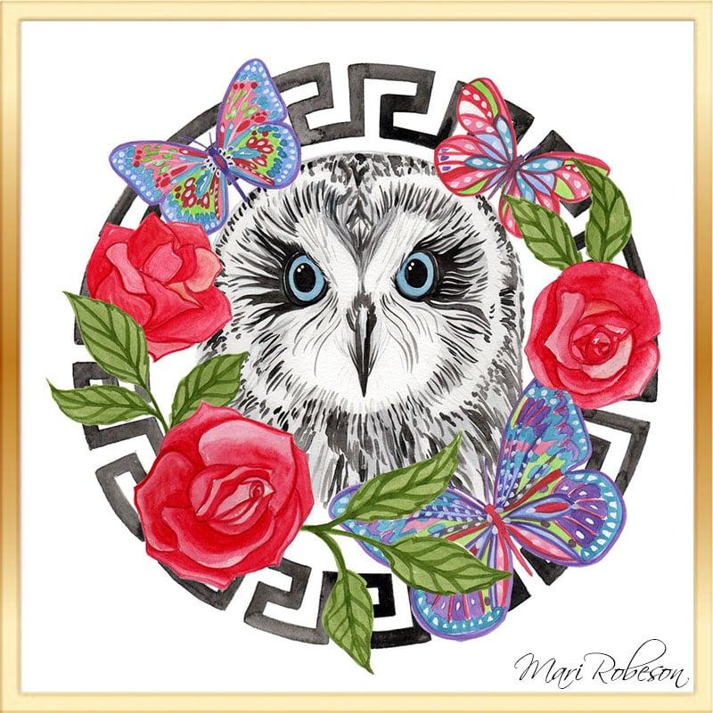 Image of White Owl