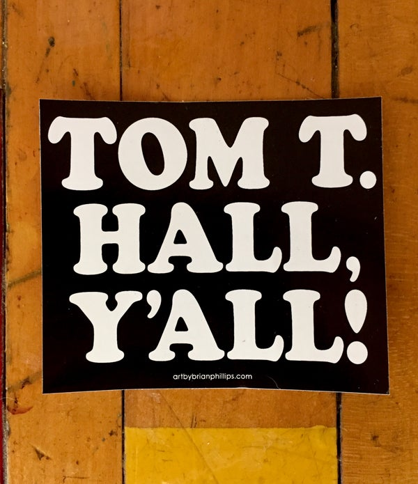 Image of TOM T. HALL, Y'ALL! • FREE SHIPPING!!!