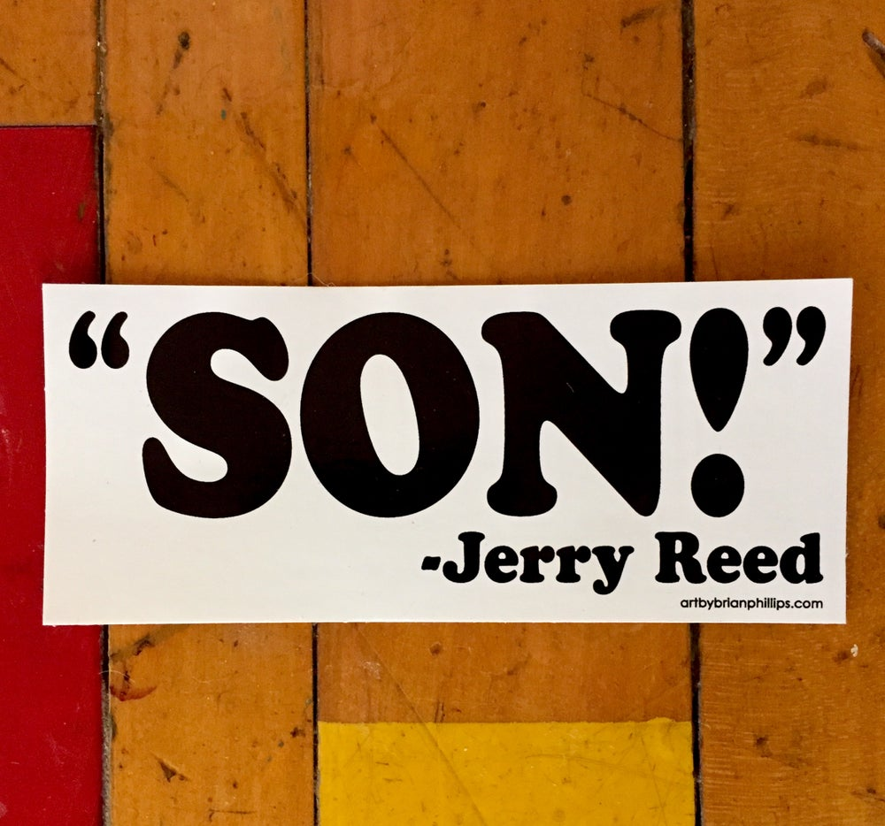 "Image of ""SON!"" - Jerry Reed"