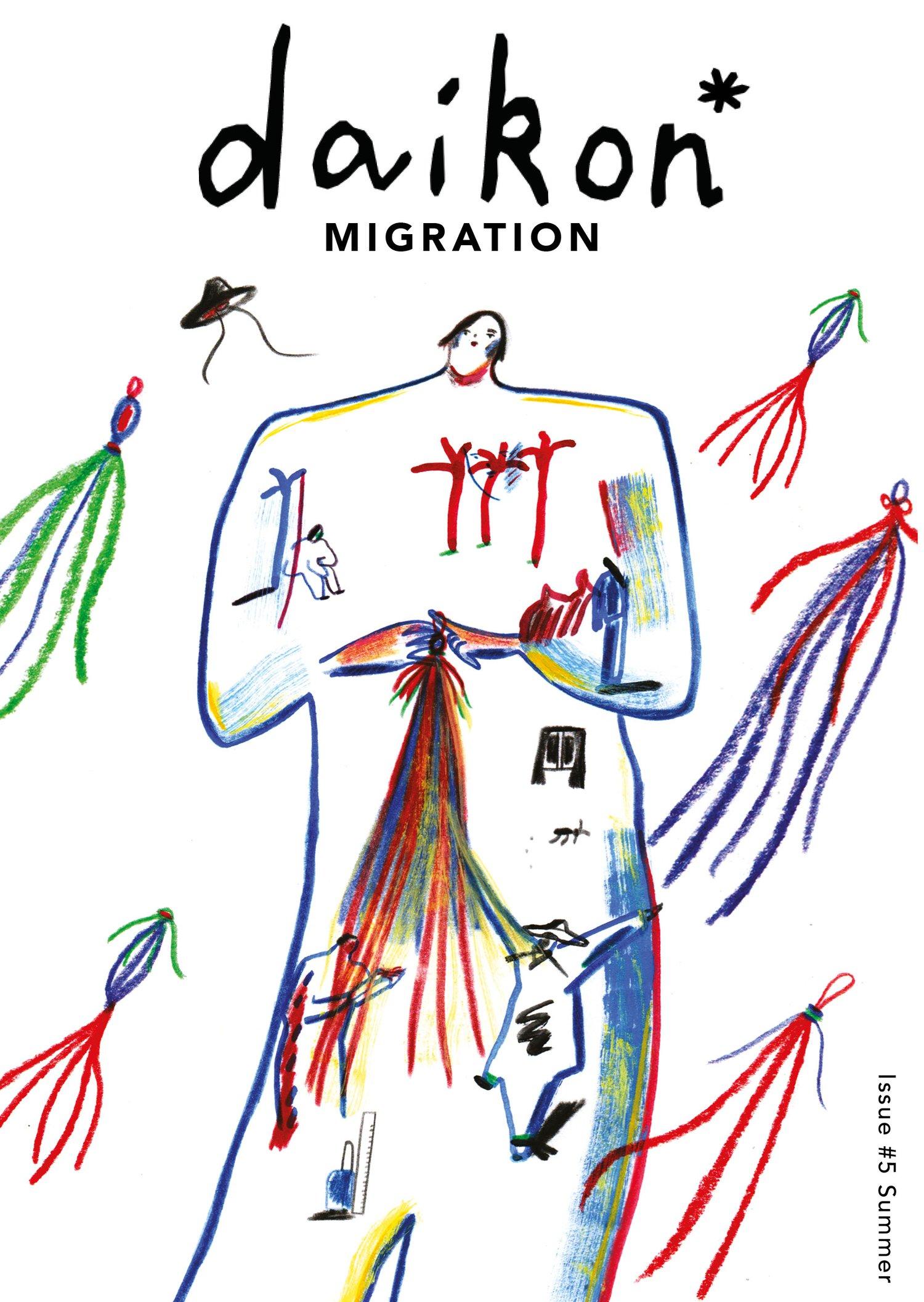 Image of daikon* zine Issue #5 Migration