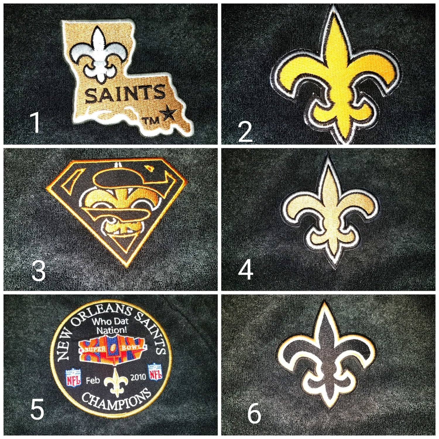 Image of New Orleans Saint Themed Towel Shorts