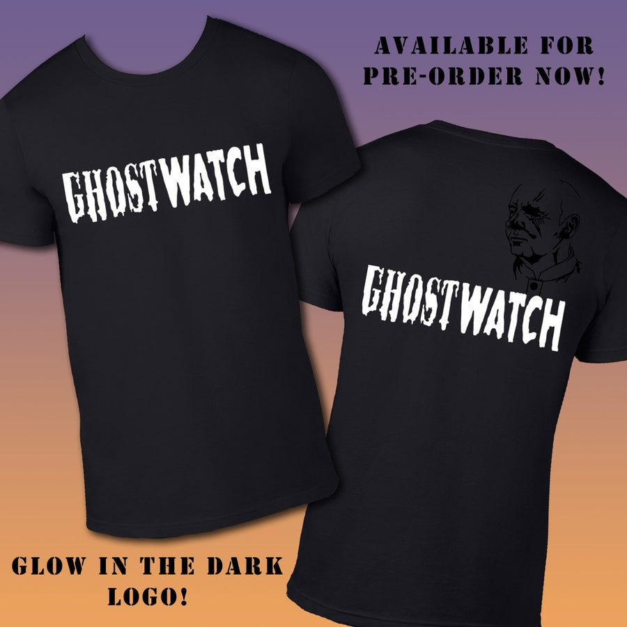 Image of Ghostwatch Replica Glowing T-shirt