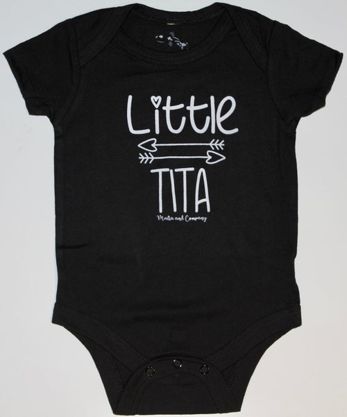 Image of Little Tita Collection - Black