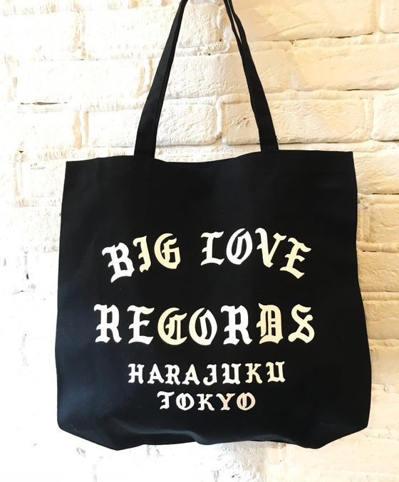 Image of BIG LOVE X SLAM JAM - Tote Bag