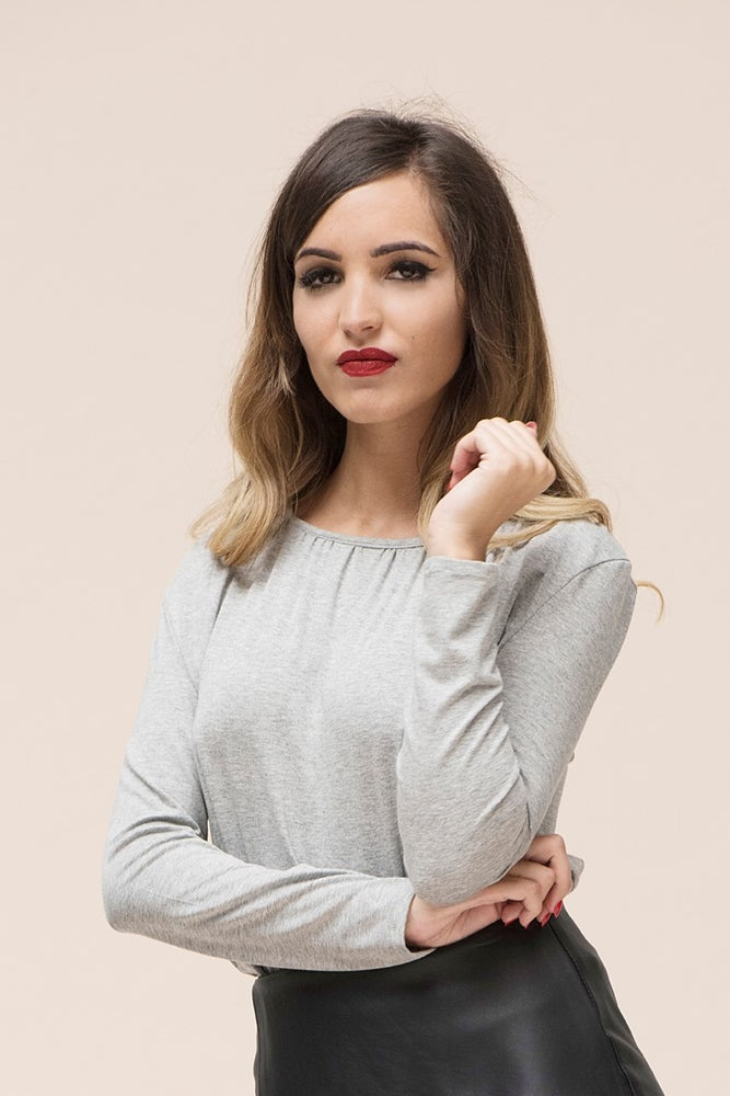 Image of Basica Athem gris perla