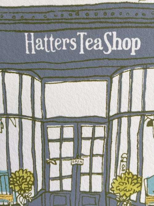 Image of H is for Hatters Tea Shop