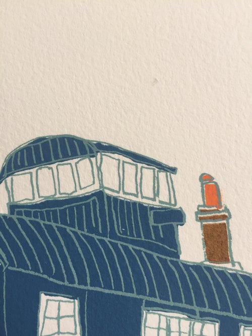 Image of L is for Life Boat House - Blakeney Point