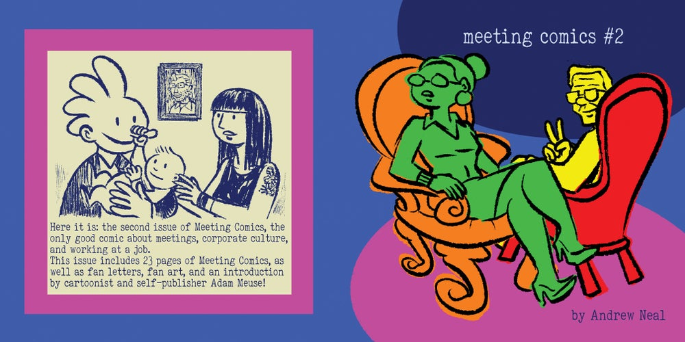 Image of Meeting Comics #2 Preorder