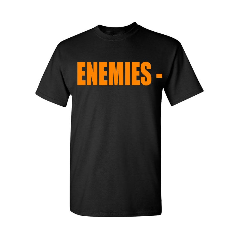 Image of BLACK ENEMIES TEE