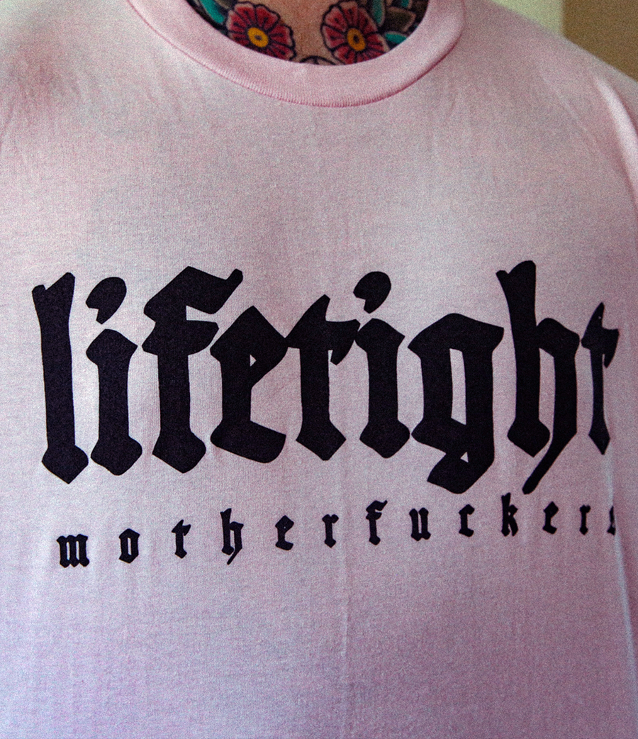 Image of MOTHERFUCKERS TEE PINK