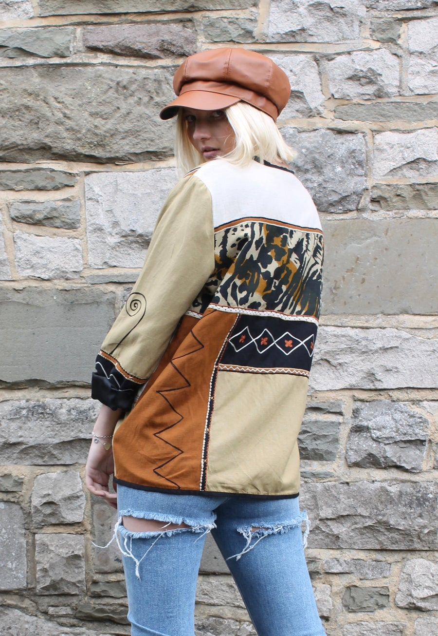 Image of Rare Patchwork Vintage Jacket