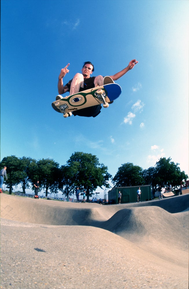 Image of Ed Templeton, Haro England, 1997
