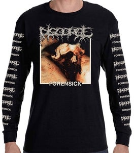 Image of DISGORGE 'Forensick' long sleeve / shortsleeve
