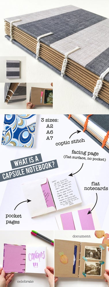 Image of Capsule Notebook - Custom Size