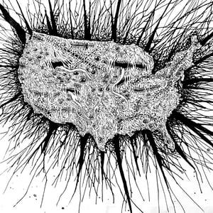 "Image of ""AmeriKKKa"" patches"