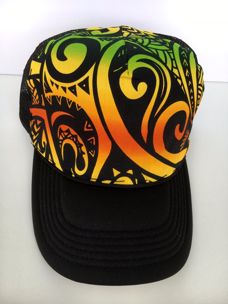 Image of Reggae Everyday Trucker Hat