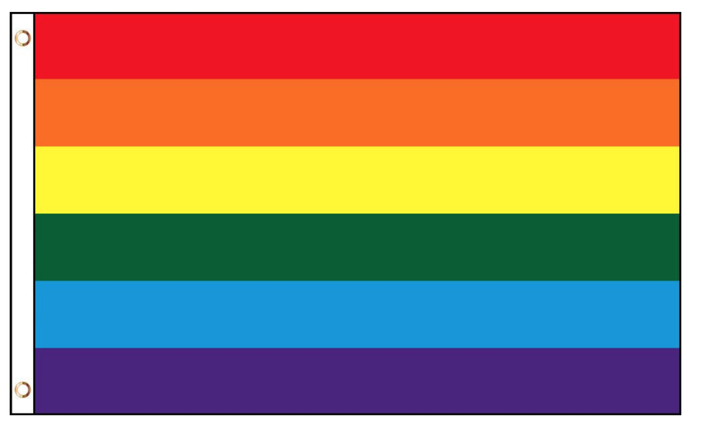 Image of Signed Pride Flag