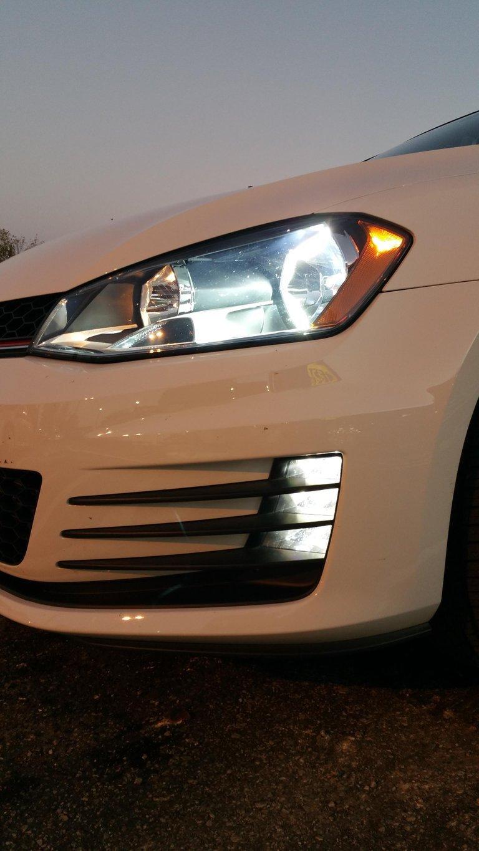 Image of Slim Digital H7(rc) HID Headlight Kit For Reflectors Fits: 2018 MK7.5 GTI/Golf GSW/Alltrack