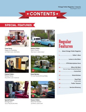 Image of Issue 34 Vintage Trailer Magazine