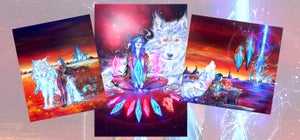 "Image of Limited Edition ""Crystal Bloom"" Print Pack"