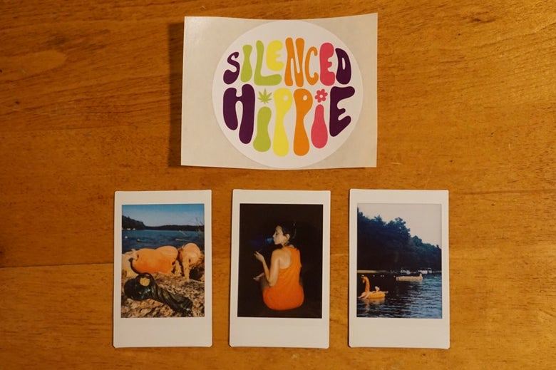 Image of Polaroid Photo Set - Lake Day