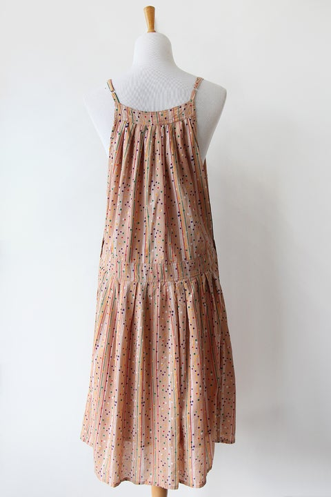 Image of SOLD Confetti Party Overall Dress