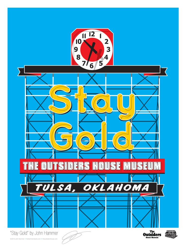 Image of Stay Gold by John Hammer