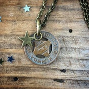 Image of Buffalo Transit Token Necklace