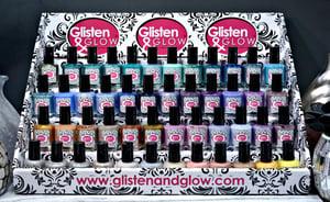 Image of Glisten & Glow 5-tier custom nail polish rack/display