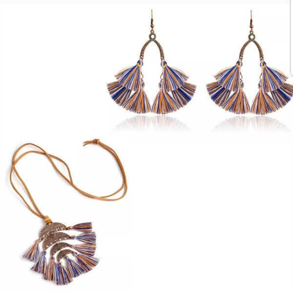 Image of Metal and Fringe Sets (Assorted)