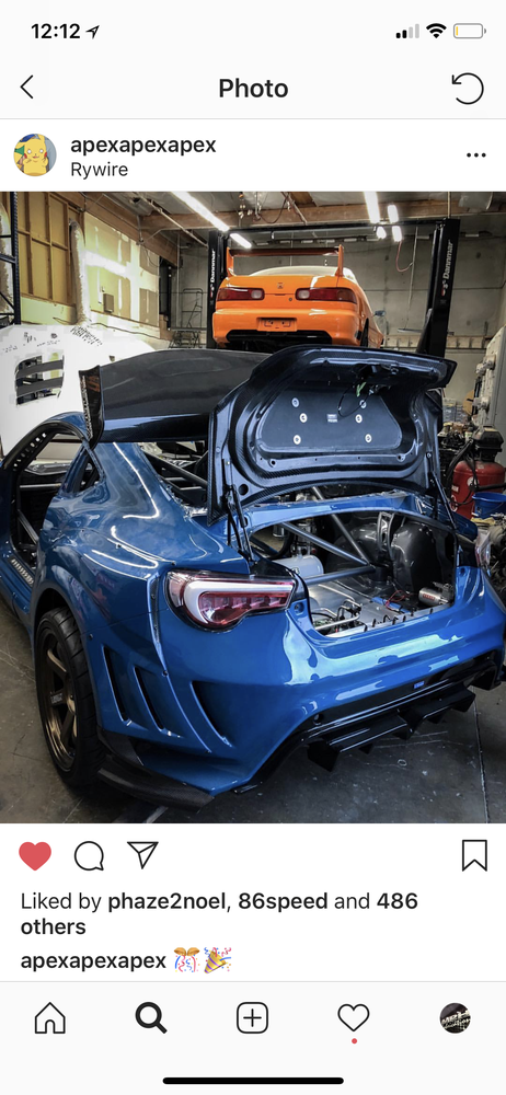 Image of FR-S/BRZ/GT86 oem style trunk
