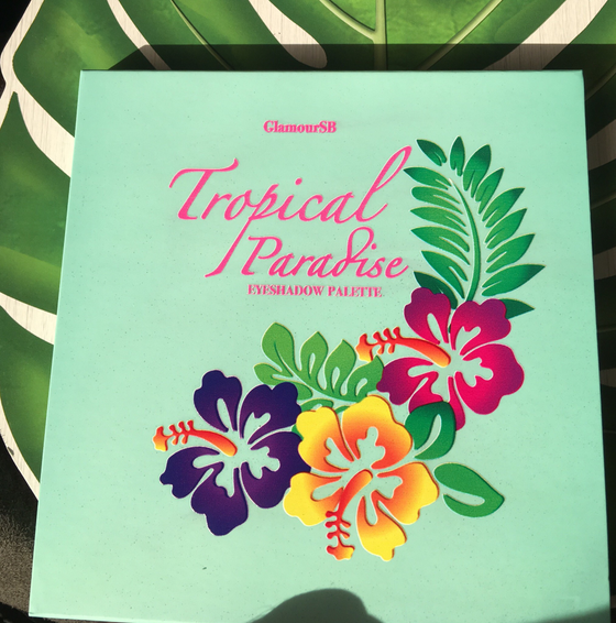 Image of NEW TROPICAL PARADISE EYESHADOW PALETTE