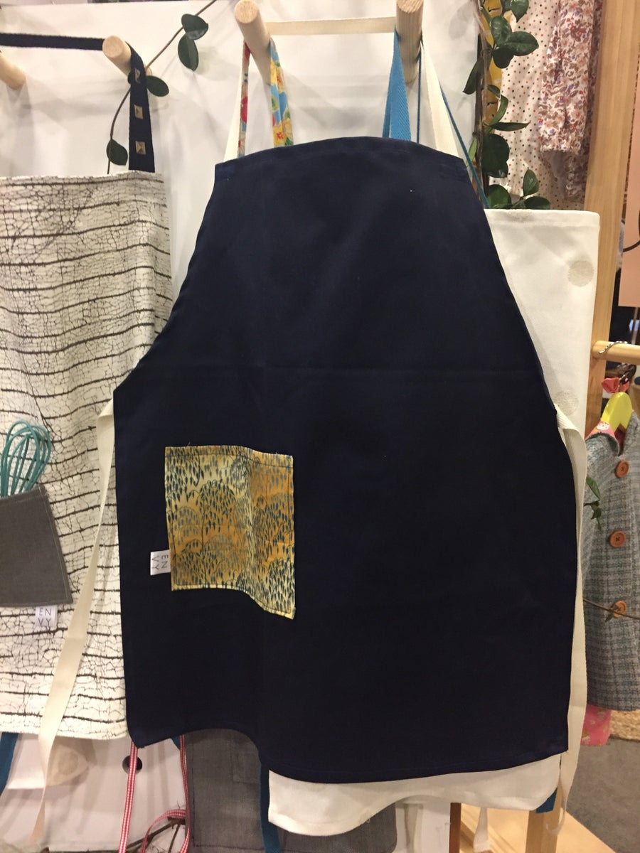Image of Navy Kids Apron