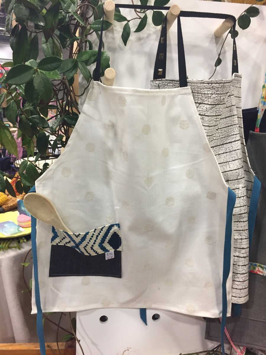 Image of Kids Apron with denim pocket