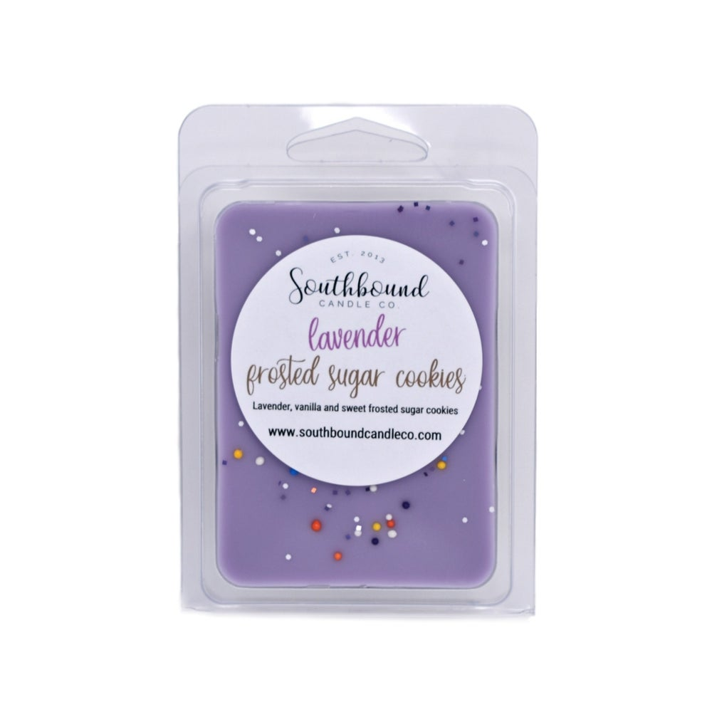 Image of Lavender Frosted Sugar Cookie Wax Melts