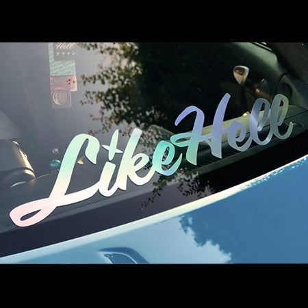 Image of LikeHell Large / XL Icon Decal