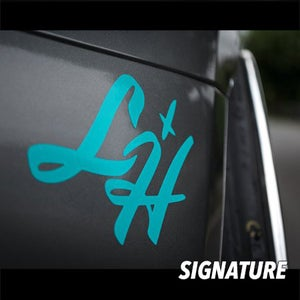Image of LikeHell Medium Decals
