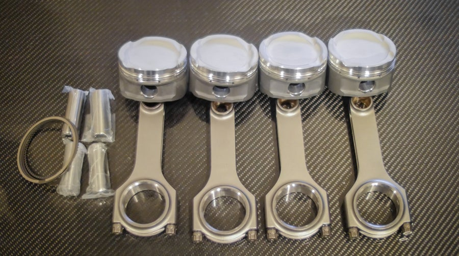 Image of Beams 3sge low comp Piston and Rod combo