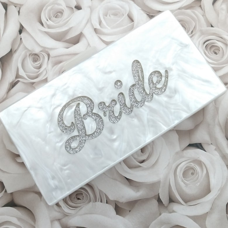 Image of Bride Clutch Bag
