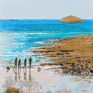 Image of Turquoise Shallows, Early Summer, Rock, Cornwall