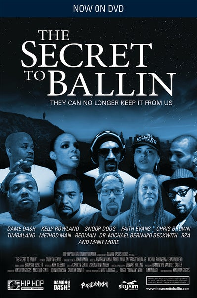 Image of THE SECRET TO BALLIN JOURNEY MOVIE (DVD)