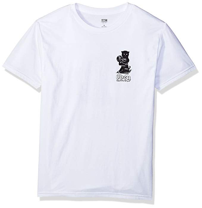 Image of OBEY - CUTS AND SCRATCHES TEE (WHITE)