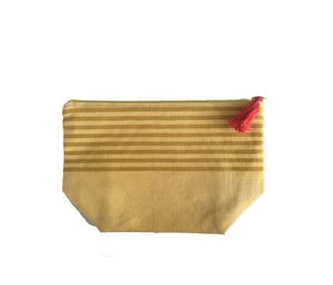 Image of Medium Tassel Bag Yellow/Mustard