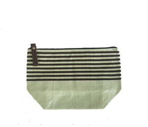 Image of Medium Tassel Bag Celery/Chocolate