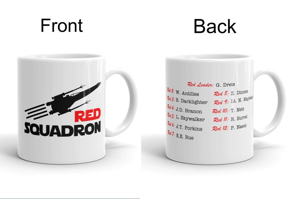 Image of Red Squadron Mug