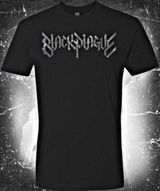 Image of Black Plague Logo T-Shirt